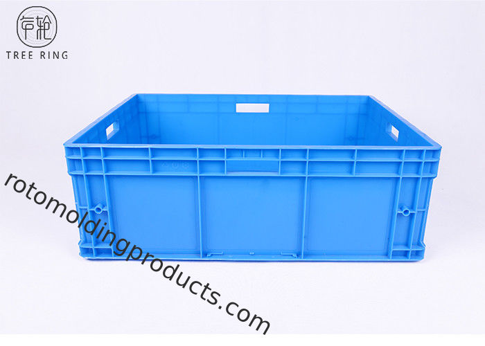Large Heavy Duty Plastic Storage Boxes With Lids Household 800 * 600 * 280mm
