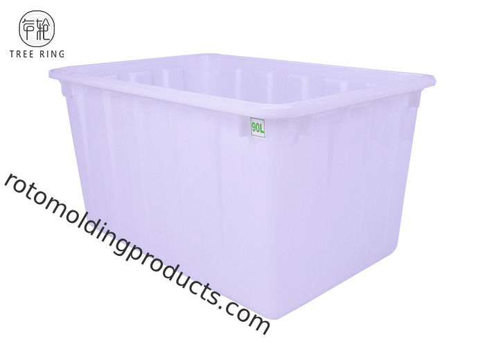 Large Rectangular Plastic Bin Boxes For Recycled Storage W90 Injection Solid