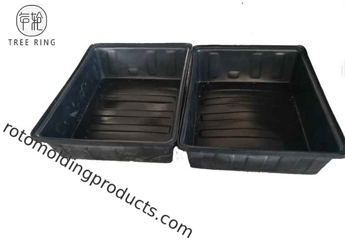 Heavy Duty Roto Poly Aquaponic Grow Bed , Food Grade Containers For Aquaponics