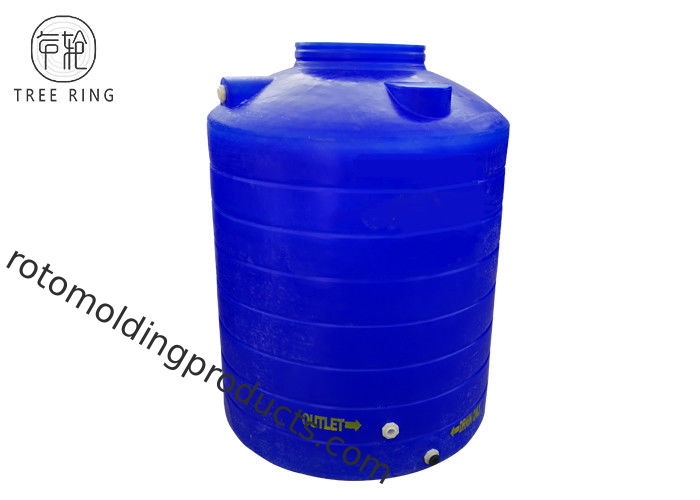 Underground Vertical PT1000 Litre Poly Bulk Container For Drinking Water