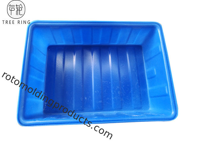 1070 * 770 * 280mm Aquaponic Grow Bed , Large Plastic Tubs For Fish K200L Durable