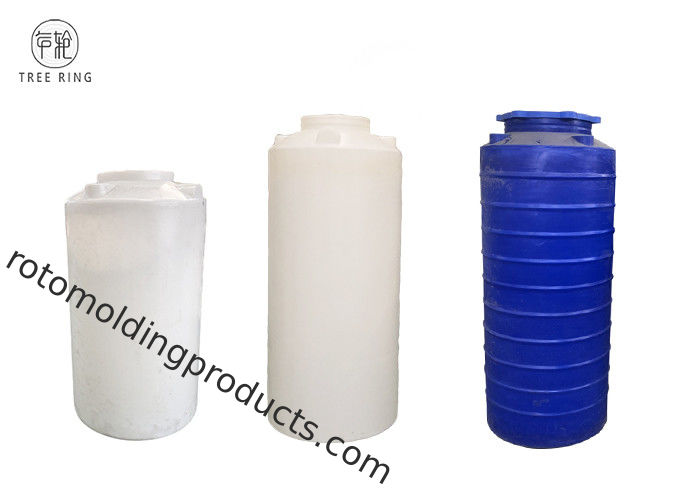 700L 1000 Lt Polyethylene Vertical Storage Tank For Reverse Osmosis Systems