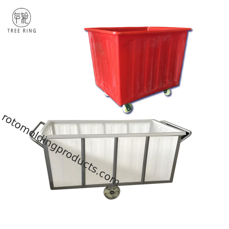 1000 Litre Poly Box Truck Poly Linen Tub Trolley For Holding Linen & Laundry