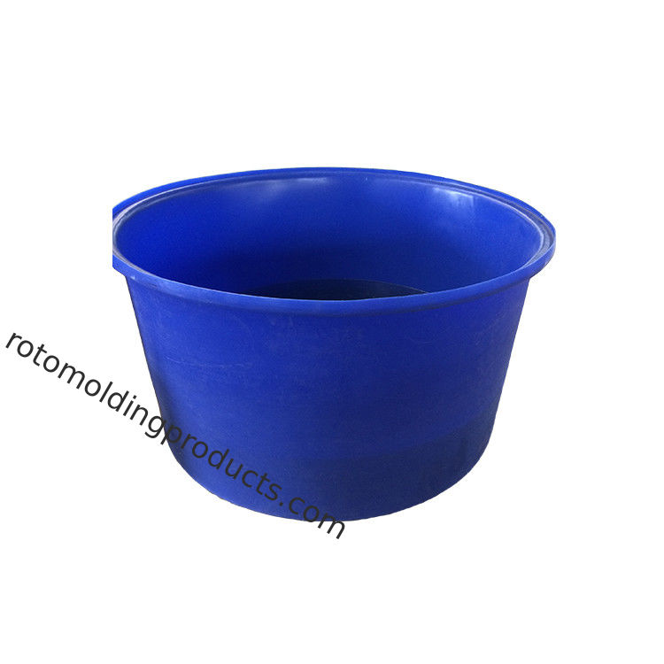 Blue Color Rotomolding Poly Agricultural Fertilizer Ponds For Koi Raised