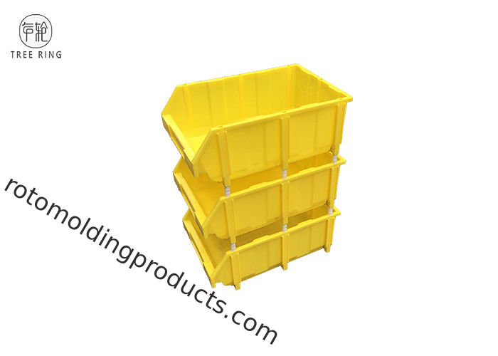 Huge Stacking Semi Open Fronted Plastic Storage Bins For Organising A Garage