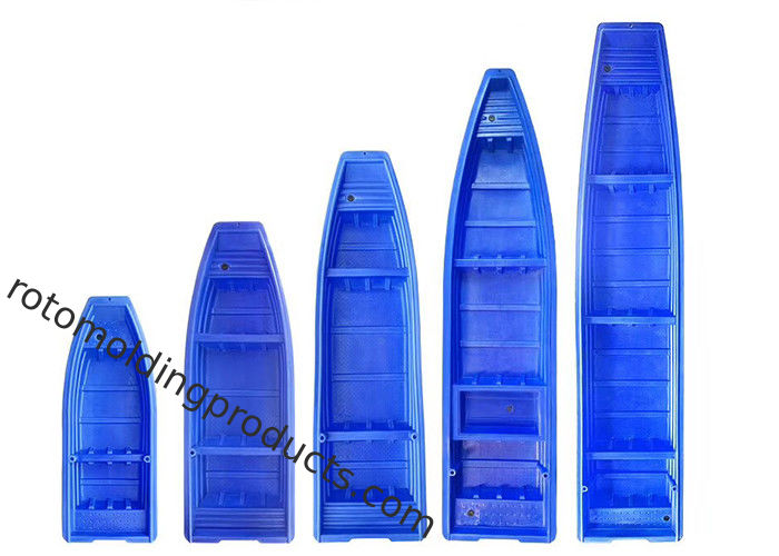 Light Weight Cheaper 2.6m U.V.  Polyethylene Plastic Fishing Boat With Good Performance