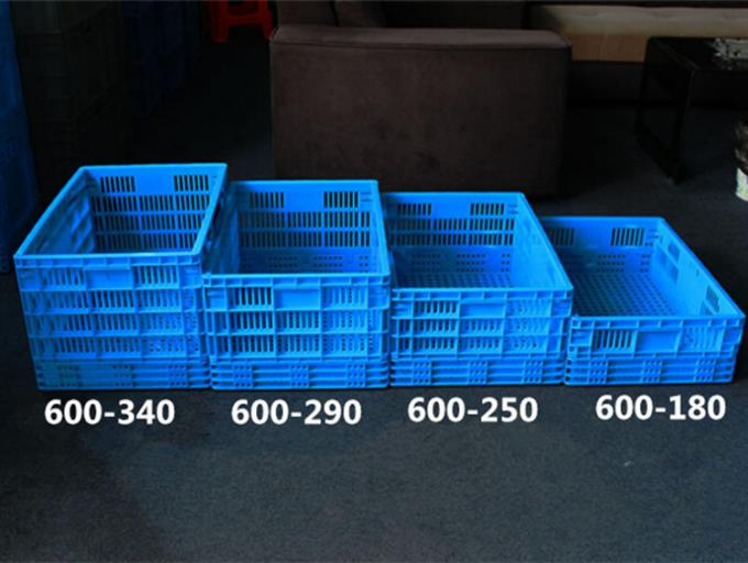 600*400*340  Mesh type  Food grade Plastic Returnable  Collapsible Folding Crates